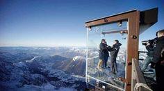 Construções incríveis no meio dos Alpes