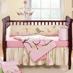 No i am not prego but I love the bedding for a baby girl.