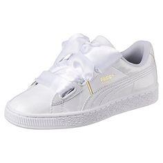 size 40 91f22 efbe9 Basket Heart Patent Damen Sneaker Puma Schuhe Damen, Sneaker Damen, Weiße  Sneaker, Bekleidung