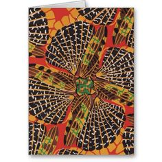 Art Deco Insects Card