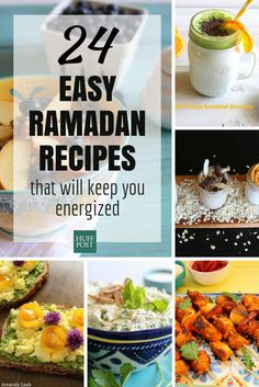 Easy Ramadan recipes that will keep you energized all month long.