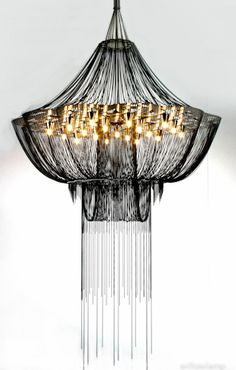 Chandelier- Flower of Life by #WillowLamp