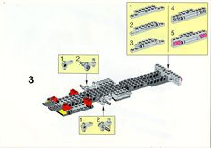LEGO 5590 Whirl and Wheel Super Truck instructions displayed page by page to help you build this amazing LEGO Model Team set Lego Basic, Lego Sets, Lego Technic Truck, Lego Models, Lego Instructions, Planer, Projects To Try, Trucks, Tutorials