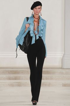 Ralph Lauren Spring 2013 Ready-to-Wear Collection Slideshow on Style.com