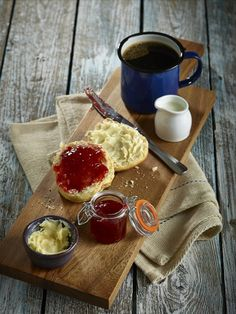 Breakfast Scones & Jam #hungry