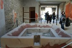 Six ancient homes are unveiled after four years of restoration works in the ancient Roman city of Pompeii on Dec. Ancient Pompeii, Pompeii And Herculaneum, Ancient Ruins, Roman City, Archaeological Discoveries, Curious Cat, Geology, Archaeology, Discovery