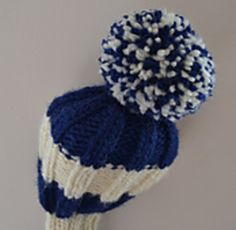 Simple head cover for even the largest driver in the golf bag. Developed and tested by our tame golf pro and if he approves, it must be fit for purpose! Golf Club Head Covers, Golf Club Sets, Golf Clubs, Easy Knitting, Loom Knitting, Yarn Crafts, Sewing Crafts, Golf Headcovers, Tricot