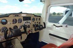 Cockpit of Cessna 150 Aerobat
