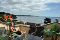 Luxury self-catering house in west Wales with sea views