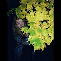 I gotta thing for leaves