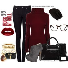 Great look for winter and the holidays