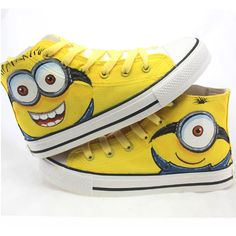 >> Click to Buy << 2016 New Cartoon Anime Women Casual Shoes Figure Despicable Me 2 Minion Shoes Couples Hand Painted Canvas Shoes  #Affiliate