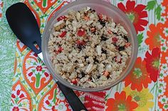 Totally Random Quinoa Salad from RD Janel Ovrut Funk