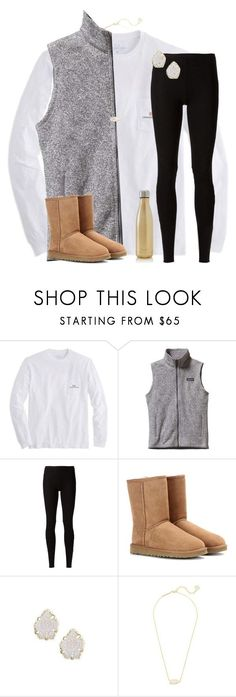 """He's like a song that she can't get out of her head"" by mimichavi ❤ liked on Polyvore featuring Vineyard Vines, Patagonia, Rick Owens Lilies, UGG Australia, Kendra Scott, S'well and trappedinmyfeels"
