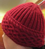 free celtic knit hat pattern | Grandmother's Pattern Book Sharing Links and Patterns Every Day!