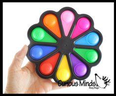 Bubble Wrap Popping, Fidget Toys, Occupational Therapy, Flower Shape, Bubbles, Shapes, Occupational Therapist
