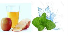 #AppleCider Vinegar and #MintToner Make a natural skin toner and blackhead remover at your home by adding some crushed mint leaves to #apple cider vinegar.