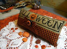 Halloween cross stitch finish inspiration