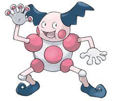 Pokemon Go - Mr. Mime is a Psychic/Fairy Type Pokemon that has no Evolution. Mr…