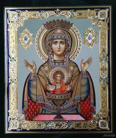 Конек Елена - Икона Пресвятая. Богородица Неупиваемая чаша