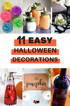 From Halloween wreaths to pumpkin decor, check out this list of easy Halloween decorations to get into the spooky spirit today! Halloween Table Decorations, Halloween Wreaths, Pumpkin Decorating, Simple Way, Diys, Spirit, Diy Crafts, Group, Stars