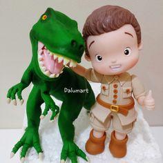 topo de bolo dinossauro - Pesquisa Google