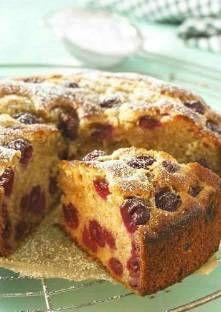 Recette de Gâteau aux cerises