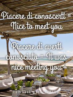#piacere #linguaitaliana #italiano