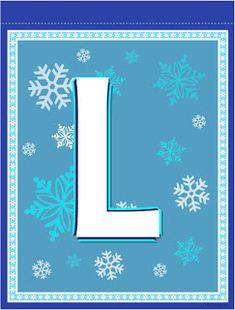 Banderines de Frozen para Imprimir Gratis. Frozen Birthday Banner, Frozen Banner, Girl Birthday, Monogram Alphabet, Alphabet And Numbers, Banner Letters, Frozen Party, Disney Frozen, Party Printables