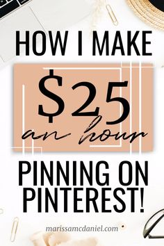Looking for ways to make money from home? Whether you're a stay at home mom, a blogger or a college student, becoming a Pinterest manager might be a great way to make extra money.  Click to learn about offering Pinterest management services and how to get started. Make money online, work from home, side hustle ideas, and make money on Pinterest. #pinterest #makemoneyonline #extramoney #sidehustle