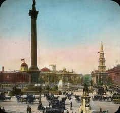 Trafalgar Square, London, England by OSU Special Collections & Archives, via Flickr