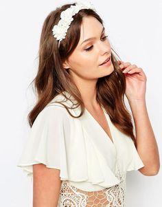 Image 1 of New Look Premium Flower Headband Asos 55b80bc594a2