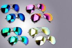 2 Pairs of Aviator Sunglasses