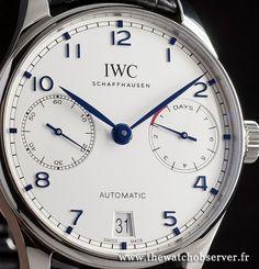 IWC Portugaise : nouveautés SIHH 2015 - Photos de montres 3 sur 17   The Watch Observer