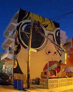 New D*Face Mural in Puerto Rico