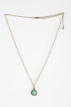 So cute! Greenwich Gem Necklace - Urban Outfitters
