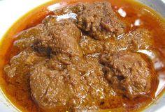 Rendang Indonesian food