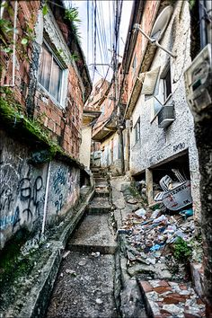 Favela Street by agm  on 500px