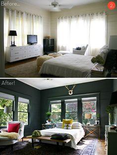 寝室のリフォームをする前に見てほしいベッドルームbefore→after7選
