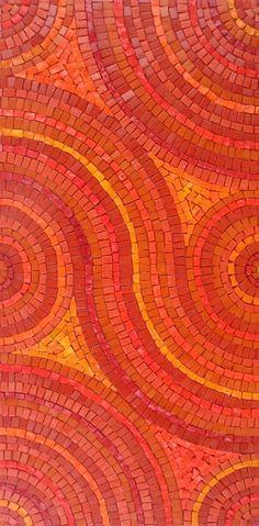 Mosaic orange