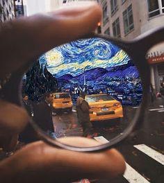 Vincent Van Gogh, Arte Van Gogh, Van Gogh Art, Creative Photography, Art Photography, Pics Art, Surreal Art, Oeuvre D'art, Collage Art