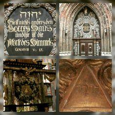 St Nikolai Church Stralsund Germany  Tetragrammaton Jehova