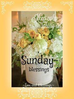 Sunday Blessings! ♥