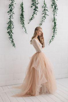 Featured Dress: JurgitaBridal on Etsy; www.etsy.com/shop/JurgitaBridal; Wedding dress idea.