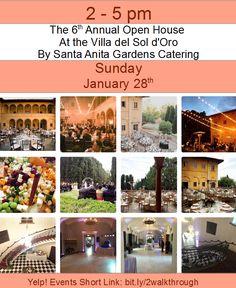 The Villa del Sol d'Oro by Santa Anita Gardens Catering (SAG)