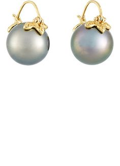 Samira 13 Tahitian Pearl Earrings - Earrings - 504349916