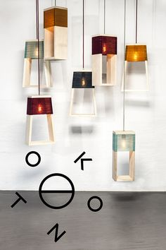 NUL 5 is a handmade lamp, made from Danish ash wood and Swedish wool.The lamp can be used either standing or hanging as a pendant. NUL 5 is available in four di Handmade Lamps, Handmade Home, Furniture Decor, Furniture Design, Diy Luminaire, Ceiling Light Design, Wooden Lamp, Diy Home Crafts, Lamp Design