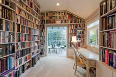 Books everywhere! :) totally need a room like this haha