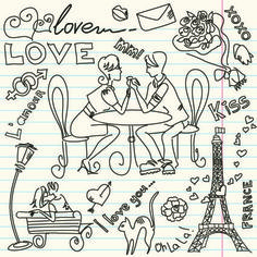 Romantic Ideas For Couples: Daily Art Journal