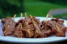 Carne en palito